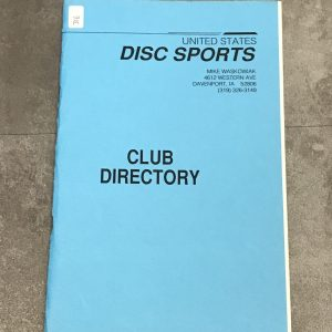 United-states-disc-sports-club-directory