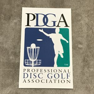PDGA-Sticker