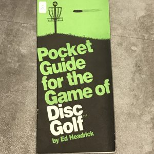 pocket-guide-for-the-game-of-disc-golf-by-ed-headrick