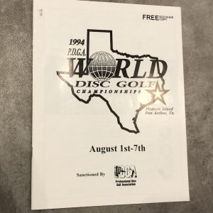 PDGA-disc-golf-world-championships-program